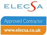 ELECSA registered Part P contractor Registration EPP57426